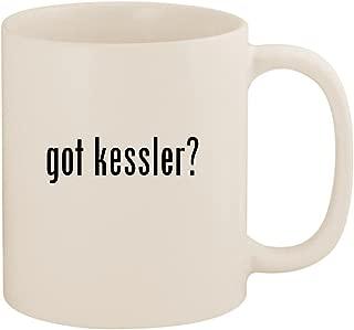 got kessler? - 11oz Ceramic White Coffee Mug Cup, White