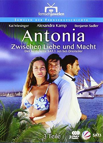 Antonia: Zwischen Liebe und Macht - Der SAT.1 Jet-Set-Dreiteiler (Fernsehjuwelen) [3 DVDs]