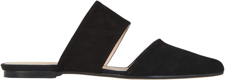 ANNA BAIGUERA Women's ANNEARMELLEBLACK Black Leather Sandals