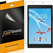 [3-Pack] Supershieldz for Lenovo Tab 4 8 (8 inch) Screen Protector, Anti-Bubble High Definition Clear Shield + Lifetime Replacements Warrant - Retail Packaging