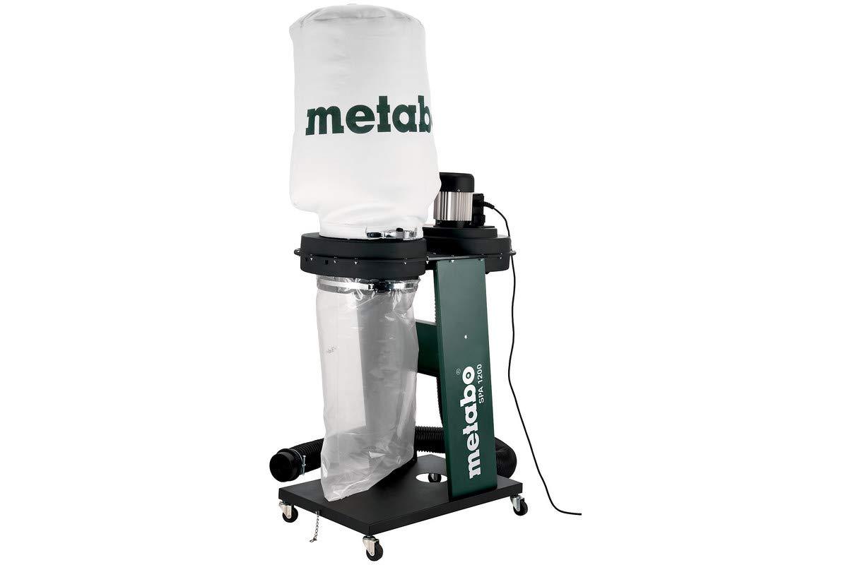 Metabo 6.01205.00 SPA 1200-monofásica-Aspirador Industrial, Negro, Verde, Plata: Amazon.es: Bricolaje y herramientas