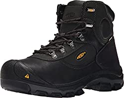 "Keen Utility - Men's Leavenworth 6"" (Steel Toe) Internal MET Work Boot"