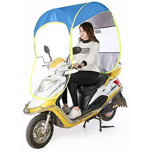 Scooter Universal Motor Coche Paraguas Mobility Sun Funda Impermeable,A