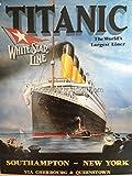 1/4 Sheet ~ Titanic World's Largest Liner Birthday ~ Edible Cake/Cupcake Topper - D6408