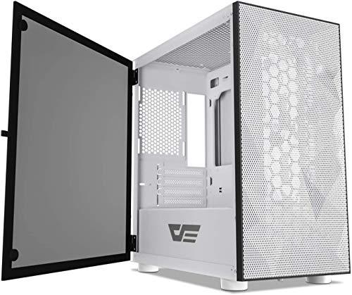 Darkflash DLM21 Mesh, Micro ATX Gehäuse, Sie brauchen EIN M-ATX Mainboard und kein ATX Mainboard!