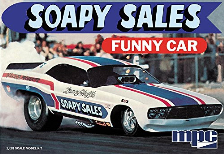 CMP MPC mpc831Echelle 1  25 savonneuse Sales Dodge Challenger drôle Kit Voiture modèle