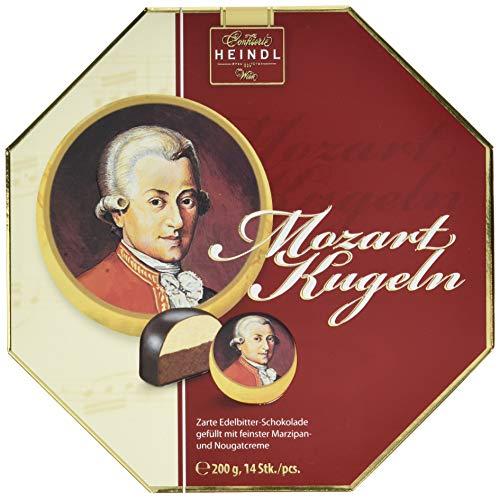 Heindl Zartbitterschokolade Mozart-Kugel-Packung, 200 g