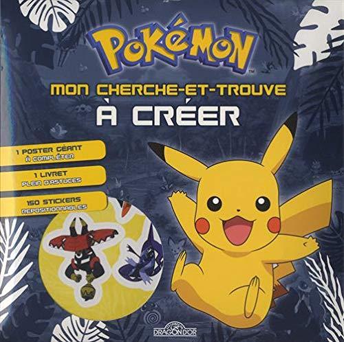 Pokémon - Mon cherche-et-trouve à créer