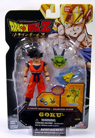 Dragonball Z Ultimate Collection 4 Inch Figure Goku (Porunga Dragon Piece!) Dragon Ball Z-ultimate Collection
