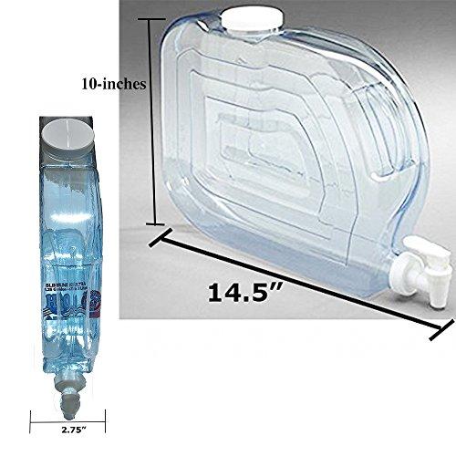 Arrow Home Products 00765 Ultra Slimline Beverage Dispenser, 1.25-Gallon