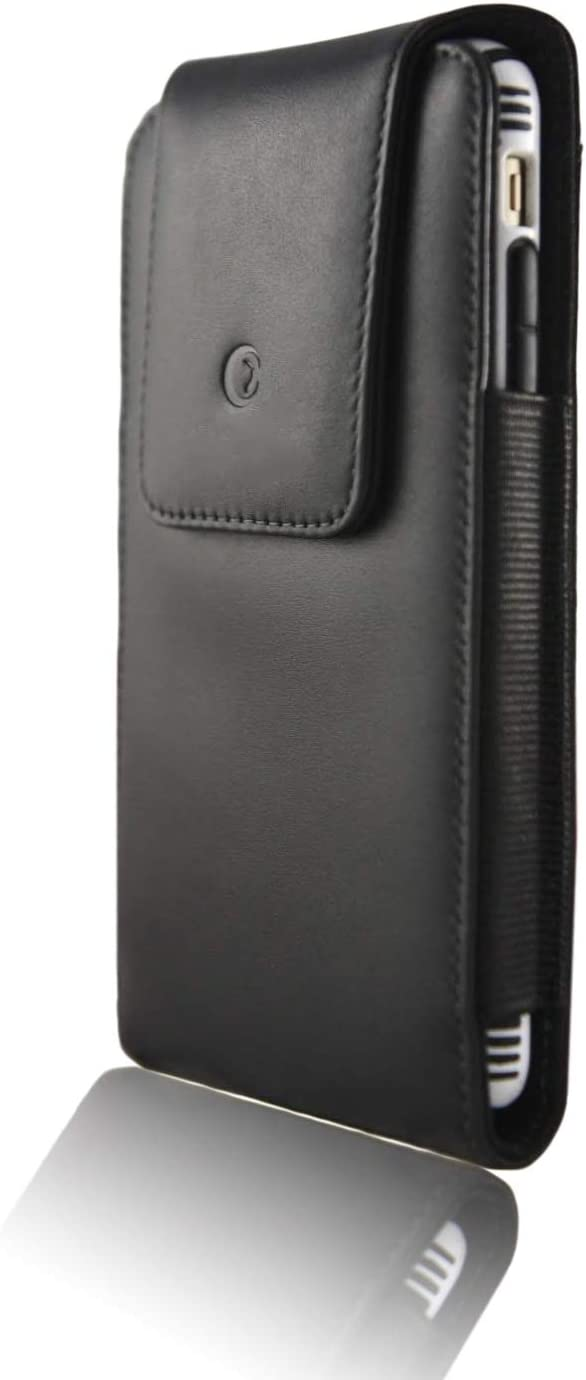 monsoon [Alpha] Genuine Leather Case Holster with Belt Clip for iPhone 11 Pro / iPhone Xs / X - fits 5.8