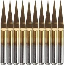 KUNSE 5 X 2 Flauto 2//3//4//5//6Mm 6 Mm Fresa A Gambo Hss Mulino CNC Incisione Bit