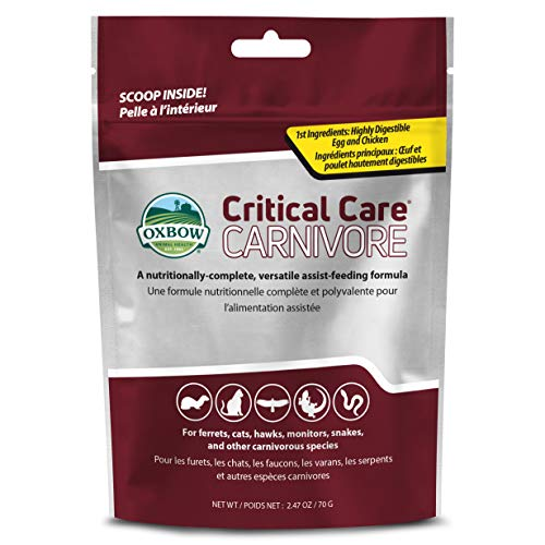 OXBOW Carnivore Care Pet Food Highly Digestible Powdered Formula Supplement 70g
