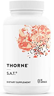 Thorne Research - S.A.T. - Silymarin, Artichoke, and Turmeric Extracts for Liver Support - 60 Capsules