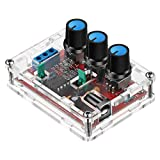 Weewooday Signal Generator Kit, XR2206 Precise Function Signal Generator Frequency Module Signal Generator DIY Kit Sine Triangle Square Output Adjustable 1Hz-1MHz, 9-12V DC Input (1)