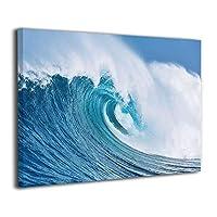 Skydoor J パネル ポスターフレーム 海の大波 インテリア アートフレーム 額 モダン 壁掛けポスタ アート 壁アート 壁掛け絵画 装飾画 かべ飾り 30×40