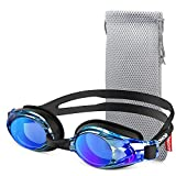 Swimming Goggles, ZIONOR G8 Swim Goggles UV Protection Anti-Fog No Leaking Adjustable Strap