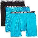 Hanes Men's X-Temp Lightweight Mesh Boxer Brief, Colors, Assorted-3, Large