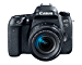 Canon EOS 77D EF-S 18-55 is STM Kit (Renewed)