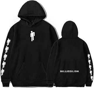 SAROULU Billie Eilish Hoodie Merch Unisex Bored Sweatershirt Pullover for Fan Support Hooded