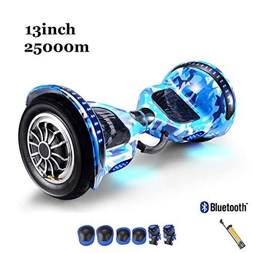 10 Zoll Hoverboard Für Kinder,Selbstausgleichender Elektroroller Für Erwachsene Mit Bluetooth-Lautsprecher,Bunte LED-Lichträder,UL-Zertifizierter Selbstausgleichender Roller,Schutzausrüstungssatz,B