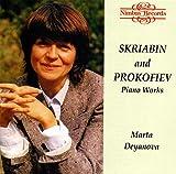 Skriabin Etudes From Op 8,42,65, Poems Op 32,52, Son 5 Op53 + Prokofiev op22, 31 - Marta Deyanova (Nimbus)