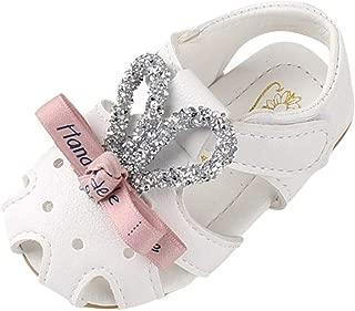 Enfant Sandales et Nu-Pieds en Cuir Artificiel B/éb/é Chaussure Sandales Bout Ferm/é Chaussure d/ét/é Plage Outdoor Sandales pour Fille Mixte Enfant 1-3ans BaZhaHei
