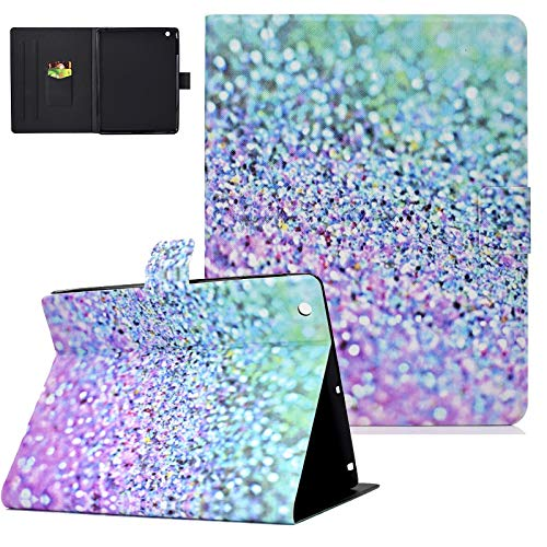 Uliking Folio Smart Case for iPad 2 3 4 (Old Model) - Slim Fit Smart Stand Protective Cover Auto Sleep/Wake for iPad 2, iPad 3rd gen & iPad 4th Generation with Retina Display, Glitter Sand