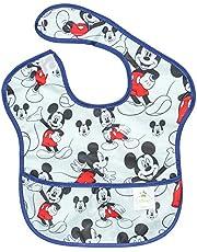 Bumkins Disney Baby Waterproof Superbib, Mickey, 6-24 months