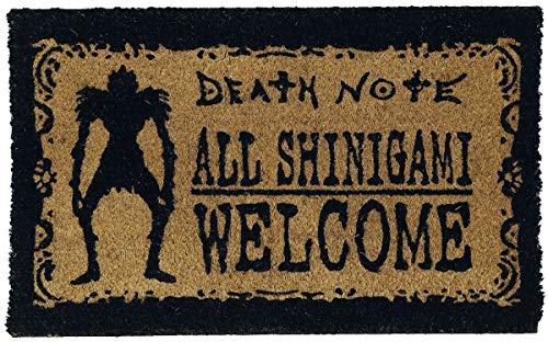 Death Note - Felpudo Shinigami Welcome