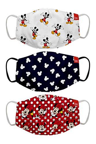 Bon Organik Mickey & Friends (OFFICIAL MERCHANDISE) 2 Ply Printed Cotton Cloth...