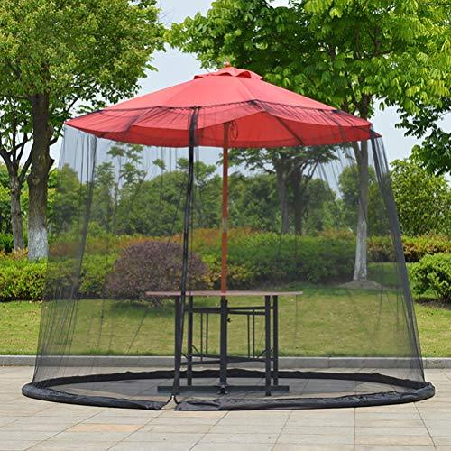 JTLB Myggnät för parasoll myggnät för parasoll myggnät för paviljong insektsskydd