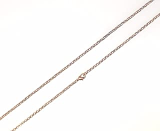 "5pcs Pack Rolo Cable Chain Necklace 22"" Length, (Link Dia. 2.6mm), 3 Colors Available (Antique Copper Plated Brass)"