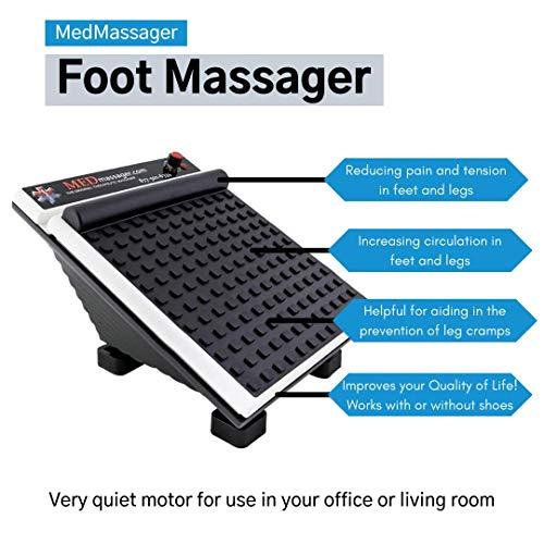 MedMassager Therapeutic 11 Speed Electric Deep Tissue Foot Calf Massager MMF06