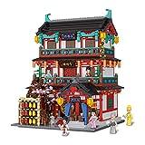 Juegos De Construcción De Casas Modulares,Juego De Construcción De Arquitectura De Restaurante Chino Antiguo,Bloques De 3274 Piezas Compatibles Con Lego,El Modelo De Construcción No Es Creado Por Lego