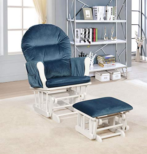 Naomi Home Brisbane Glider & Ottoman Set mobile product short list 5