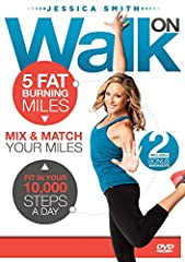 "Create Your Personal Walking Plan With Our Customizable DVD Menu Mix and Match Your Miles Includes 2 Bonus Routines - the ""Strong Feet and Ankles"" and ""Strong Knees and Hips"" Workouts Get Almost 2 HOURS Worth of Workouts on 1 DVD!"