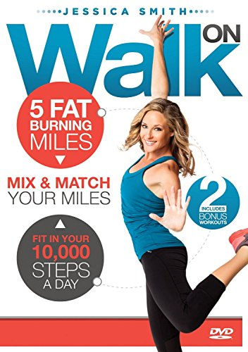 Price comparison product image Walk On 10, 000 Steps Weight Loss 5 Fat Burning Miles Indoor Walking Exercise DVD