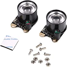 Diyeeni Freenove Ultimate Starter Kit,2pcs 3W high-Power 850 Infrared LED for Night Vision Raspberry Pi Camera Module
