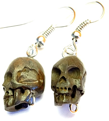 Crâne Pirate Boucles D/'Oreilles Argent Sterling .925 et alliage HALLOWEEN GOTH Handcrafted