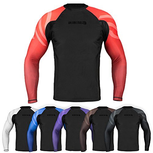 Sanabul Essentials long sleeve rash guard bjj