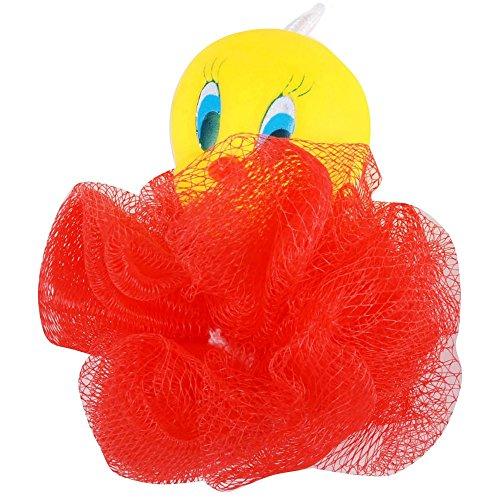 Disney - Fleur De Bain Titi Et Gros Minet Tweety Gant De Toilettes Enfant Licence Cartoons