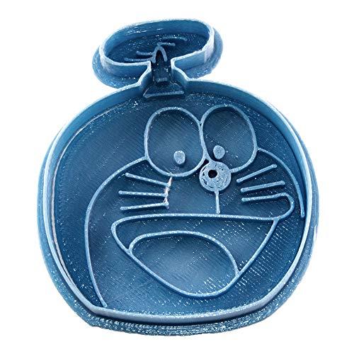 Cuticuter Niños Doraemon Cortador de Galletas, Azul, 8x7x1.5 cm