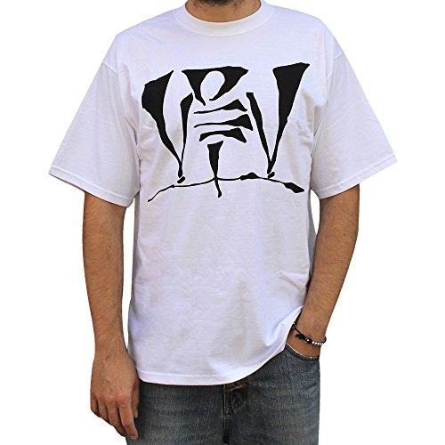 Camiseta VIOLADORES del Verso Logo 08 Unisex, de algodón, Color Blanco