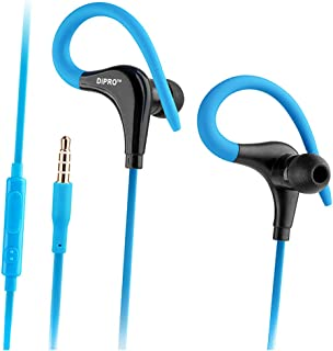 Sport Design Wired Earbuds in Ear Headphones with Microphone and Volume control Extra Bass Headsets for Android mobile