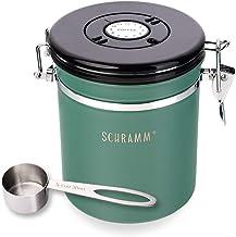 Schramm® Koffieblik 1500 ml in 10 kleuren met doseerlepel hoogte: 15 cm koffieblik koffieblik van roestvrij staal, kleur: ...