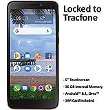 TracFone TCL A1 4G LTE Prepaid Smartphone