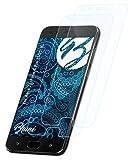 Bruni Schutzfolie kompatibel mit Asus ZenFone 4 Pro ZS551KL Folie, glasklare Bildschirmschutzfolie (2X)
