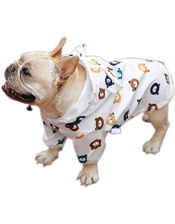 XL Soft and Durable Raincoat Dog Raincoat Waterproof Windproof Lightweight Minjie Dog Raincoat with Hood Ultralight Breathable Waterproof Dog Jacket