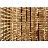 PUZZLEYM Bambú Veneciana Cortinas Verticales Cortinas Blackout Persianas Sun Shade elevación con la Cuerda del tirón fácil de Instalar Se Puede Personalizar en Diferentes tamaños.